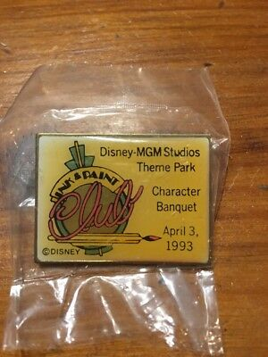 Disney Pin MGM Studios Character Banquet April 3, 1993 New In Package