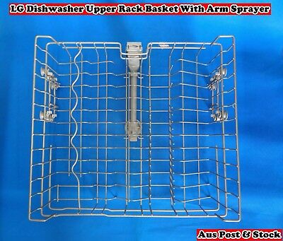 LG Dishwasher Spare Parts Upper Rack Basket with Upper Drain Pipe (S162) Used
