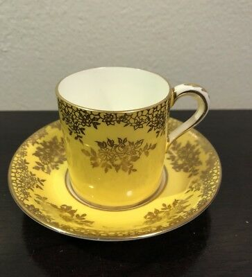 Vintage Paragon By Apt to H.M The Queen and H.M the Queen Mary Cup & Saucer
