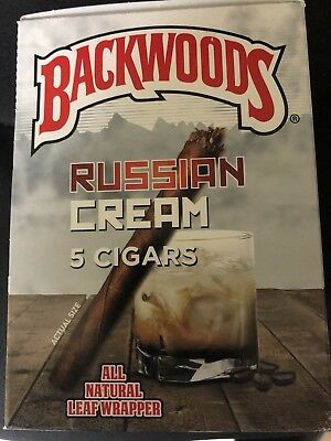 Russian Cream Backwoods Box Of 40 Cigars