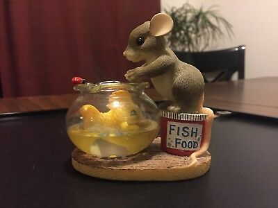 CHARMING TAILS MOUSE FIGURINE 89/119 You're Friendship is Golden