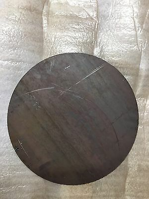 (1)pc. 1/2 INCH X 10 3/4 INCH ROUND/DISC CIRCLE PLATE A36 GRADE STEEL
