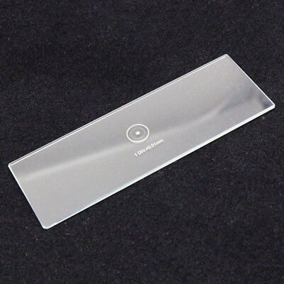 DIV 0.01mm Microscope Stage Calibration Slides Grids Net Micrometer 100x100 Grid