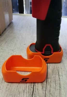 QUANTITY 2 Snap On Orange Battery Boot Covers CT761 CTS761 CDR761 CTR761 14.4V