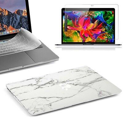 "For Newest Macbook Pro 13"" A1706/A1708/A1989 Shockproof Marble Pattern Hard Case"