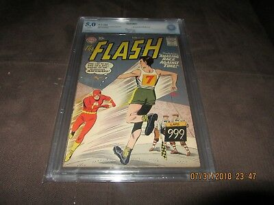The Flash 107 CBCS 5.0, 2nd App. of Gorilla Grodd (DC 1959) Off White Pages