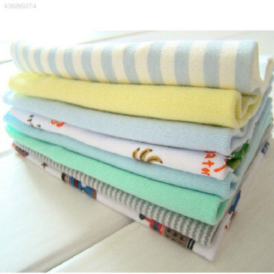 8Pcs/Pack 100% Cotton Newborn Baby Towels Nursing For Boys Handkerchief