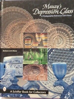 Mauzy's Depression Glass - a Photographic Reference with Prices Schiffer Book