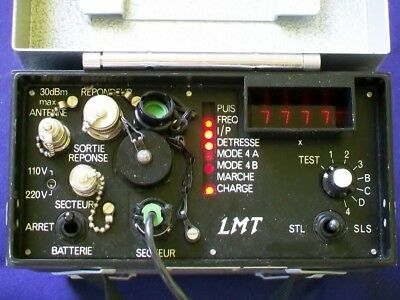 ATC-IFF avionic transponder test set ramp test BB39A