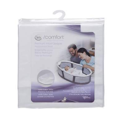 Serta iComfort Premium Infant Sleeper Replacement Sheet - Gray 100% Cotton
