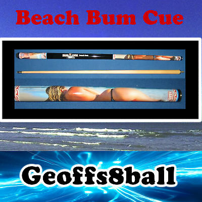 """CROOKED or WARPED  """"BEACH BUM"""" Maple 2 piece Pool Cue RRP $69.99 !!!"""