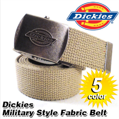 Dickies Belt Mens Belt Adjustable Belt Heavyduty Belt Cotton Military Belt  42""