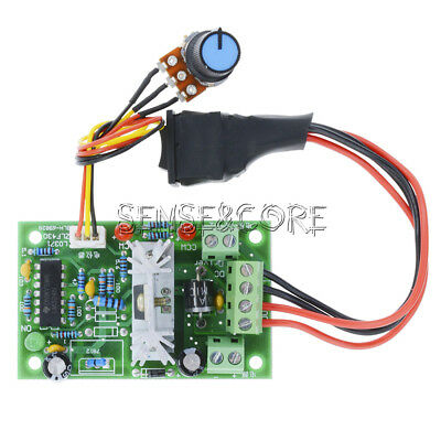 DC Motor Speed Controller Reversible PWM Control Forward Reverse Switch 6-30V