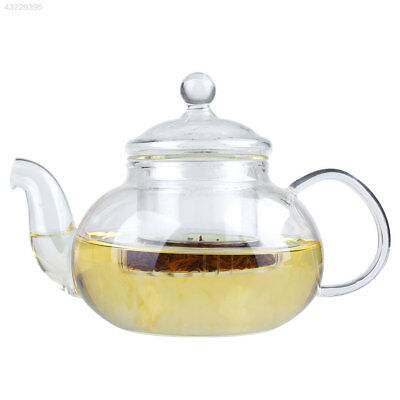 Heat Resistant Clear Glass Teapot With Infuser Herbal Pot Bottle 1000ML