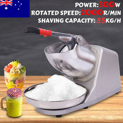 Electric Ice Crusher Blender Slushie Machine Snow Cone Iced Cocktail Maker 300W