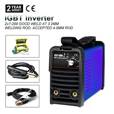 Welder TIG ARC MMA 200 Amp DC Torch Welding Machine Professional Inverter HF New