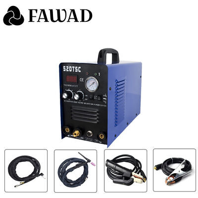 520TSC 50 Amps Plasma Cutter 200 Amps Tig Welder And MMA Stick ARC Welder 3 in 1