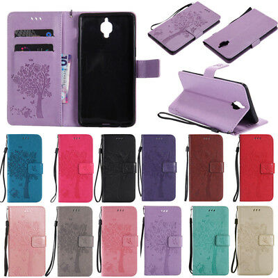 Wallet Leather Case Stand Card Slot Magnetic Flip Cover For OnePlus 5 / 5T/ 3/3T