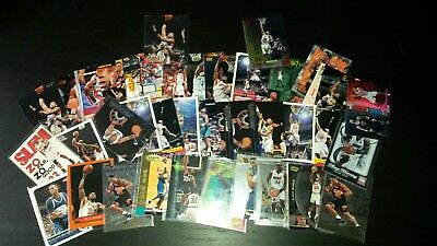 Alonzo Mourning card lot 35+ cards  NBA - NO AUTO