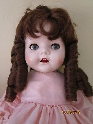 Large 15 Inch Doll Wig To Fit A 22 Inch Pedigree Or Similar Sized Head