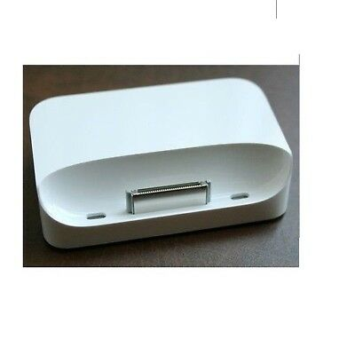 Genuine Original Apple Iphone 3G 3Gs Dock Cradle Usb Mb484G/a White New