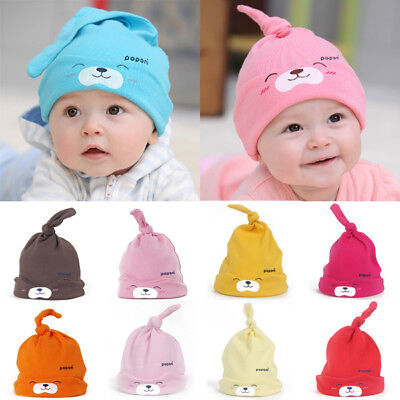 New Hat Newborn Cap Sleep Animal Cap Baby Cotton 0-9 months