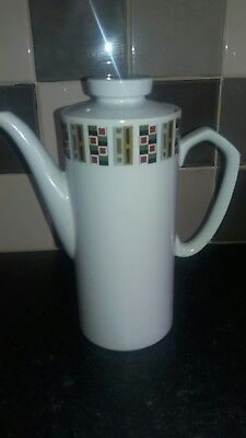 Alfred  Meakin Coffee Pot. Vintage Retro