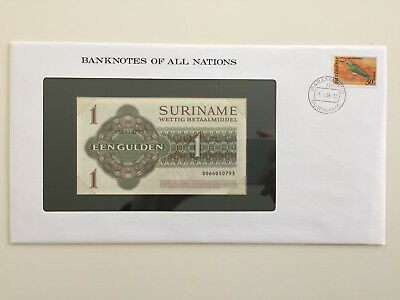 Banknotes of All Nations - Suriname 1 Gulden UNC