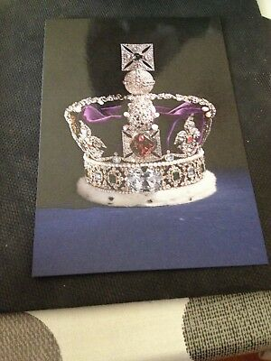 Royal Postcard - Imperial State Crown, 1937