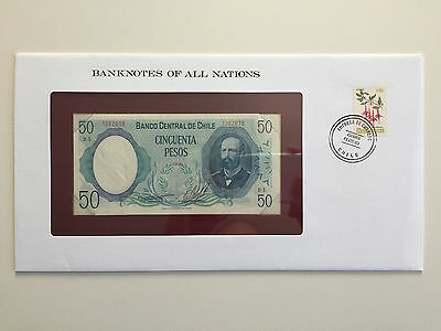 Banknotes of All Nations – Chile 50 peso 1981 UNC