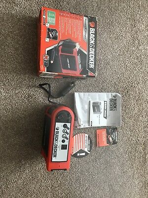 Black & Decker BDV030 Battery Booster Car Starter