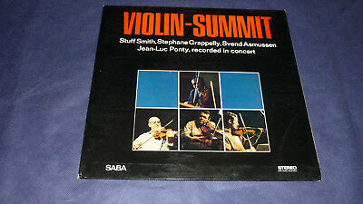 Violin-Summit   -   Stuff Smith, Stephane Grappelly…………     FOC