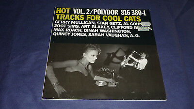Hot Vol. 2  -  Tracks for cool cats   Gerry Nulligan, Stan Getz, Sarah Vaughan……