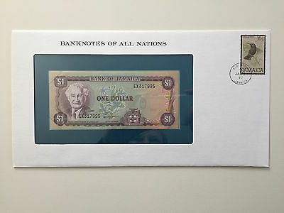 Banknotes of All Nations – Jamaica $1 UNC