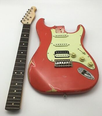 Electric guitar/ Heavy Relic for Strat style 2018