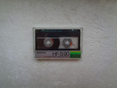 Vintage Audio Cassette SONY HF-S 90 From 1985 - Fantastic Condition !!