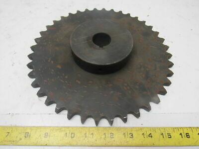 "#60 Roller Chain Sprocket 40T 1-3/16"" Bore"