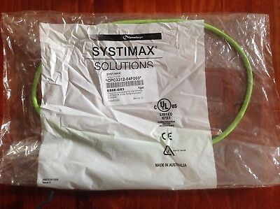 CommScope systimax solutions cable CPC3312-04F003 GS8E-GR3 3 foot