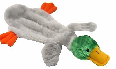 Good Boy Dog/Puppy Toy - Raggy Duck Unfilled Stuffing Free Soft Comfort Blanket