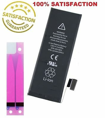 New 1560mAh Li-ion Internal Battery Replacement for Apple iPhone 5S 5C +Adhesive