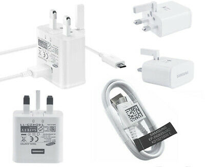 Samsung Galaxy S5 Neo S4 S6 Note 2 4 Ace 2A Mains Charger ETA-U90UWE + USB Cable