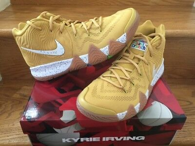 4828e4dae5a4 Nike Kyrie 4 Cereal Pack Cinnamon Toast Crunch BV0426-900 GOLD Men GS Sz 4Y