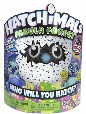 Hatchimals Fabula Forest Hatching Egg with Interactive Puffatoo Spin Master NEW
