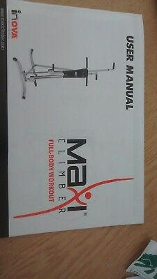 Maxi Climber Exercise Machine Stepper Cardio Home Fitness Workout