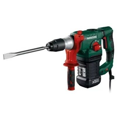 Parkside SDS-Plus 1500W Hammer Drill PBH 1500 E5 + Carry Box  Made In Germany