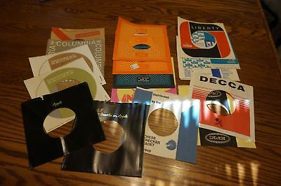 Record Sleeves Columbia Universal UA Liberty EPIC DECCA Imperial APPLE Cadet