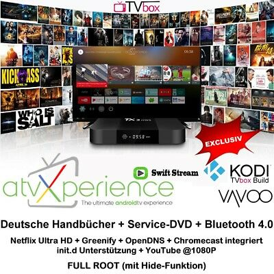 TVBOX VAVOO / KD Player TX3mini ATVX 4K 2GB/16GB SET TOP IPTV MULTIMEDIA  *NEU *