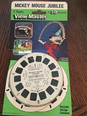 View-Master Mickey Mouse Jubilee 21 3D Pictures Made In USA