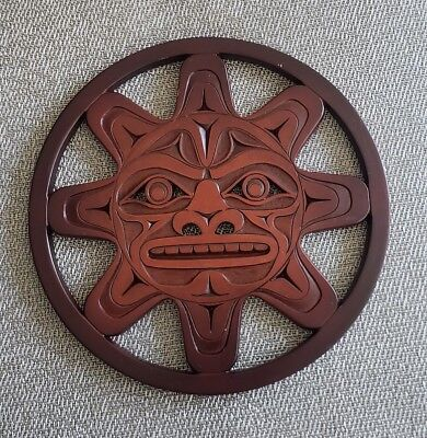 BOMA Recycled Glass Sun Trivet Made In Canada