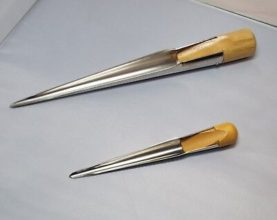 Pair Of Stainless Steel Splicing Spike Fids Large & Small Swedish Rope - AS35